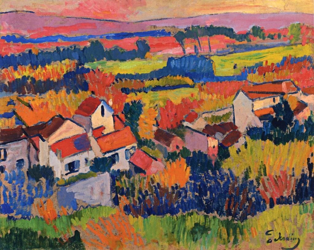 Выставка французского художника Анри Дерена открылась в Швейцарии