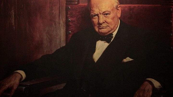 Картину Уинстона Черчилля выставили на аукционе Christie's