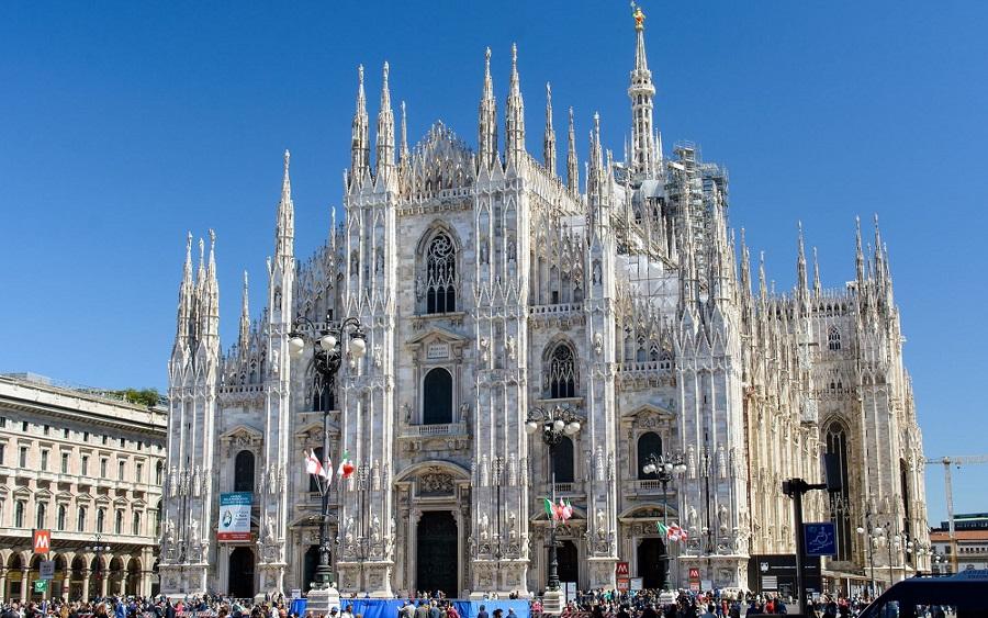 Любоваться Миланом с высоты…