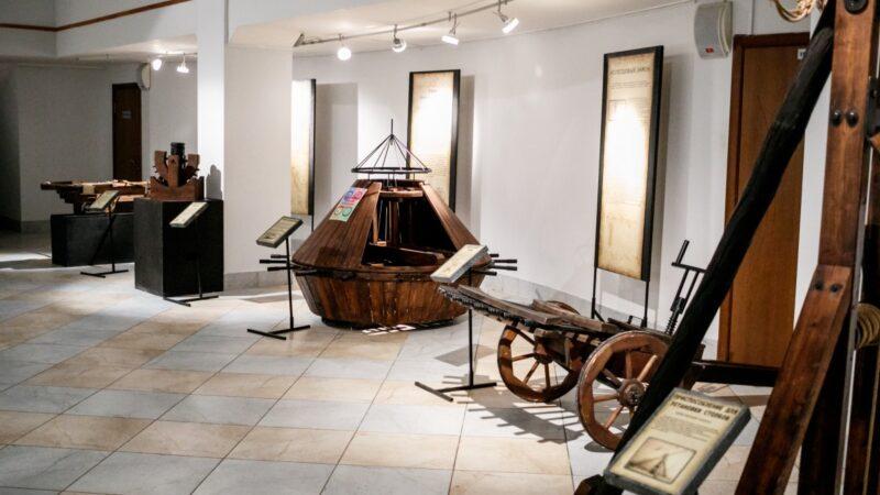 Выставка «Механизмы Леонардо да Винчи»