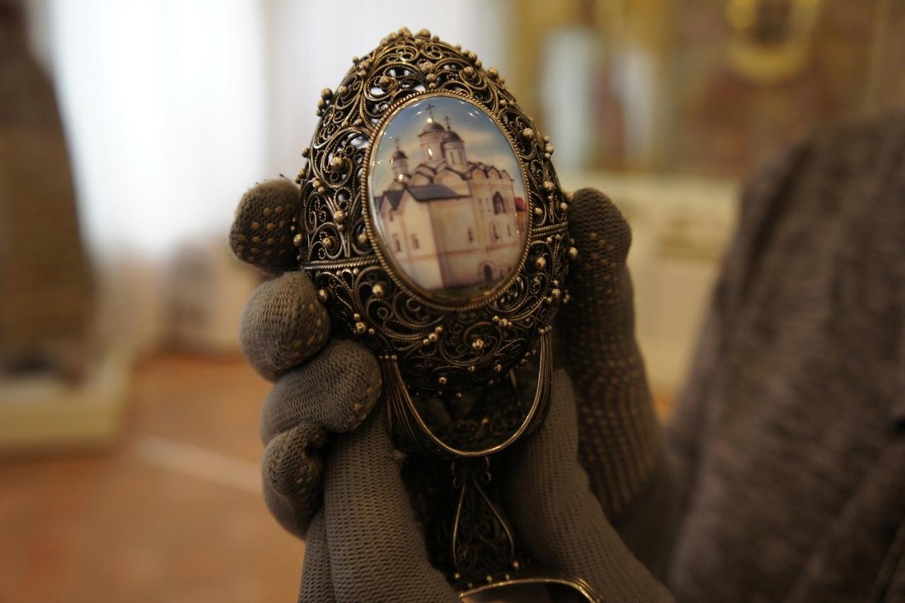 В Кирилло-Белозерском музее-заповеднике открылась выставка эксклюзивных пасхальных сувениров