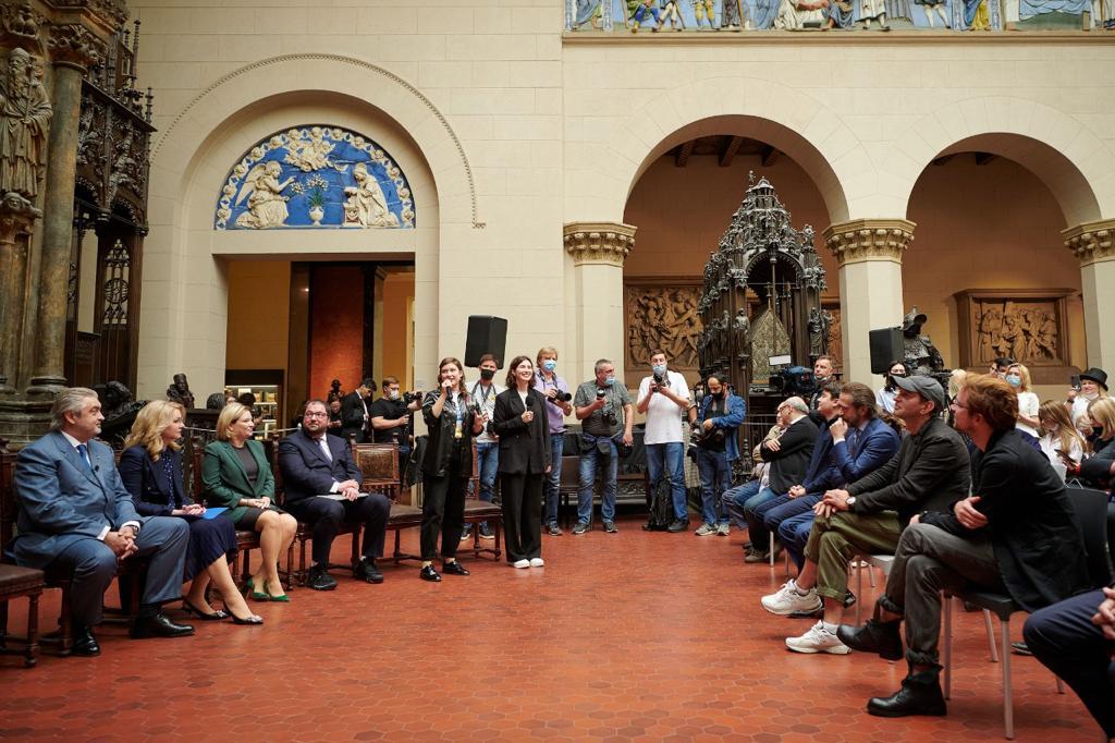 Презентация программы «Пушкинская карта» прошла в Государственном музее изобразительных искусств имени А.С. Пушкина